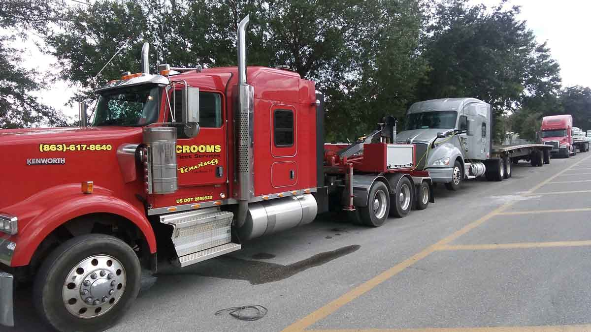 Commercial Truck Towing Lakeland FL